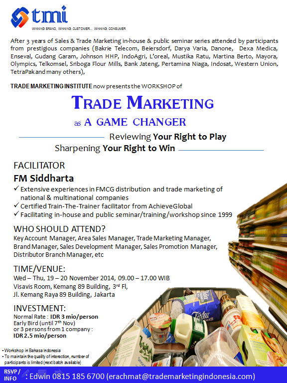 Trade Marketing as a Game Changer